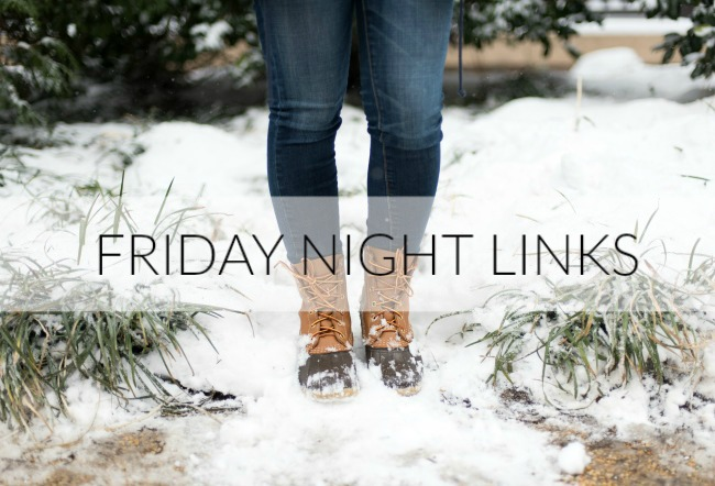 Friday Night Links | Something Good, bean boots
