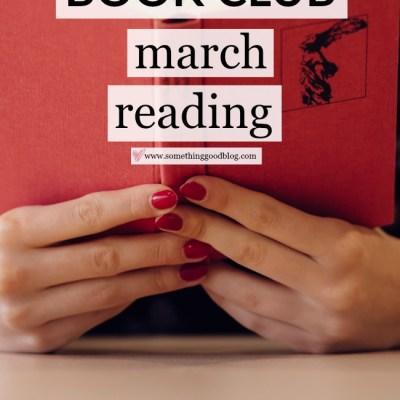 Sunday Book Club: March Reading List