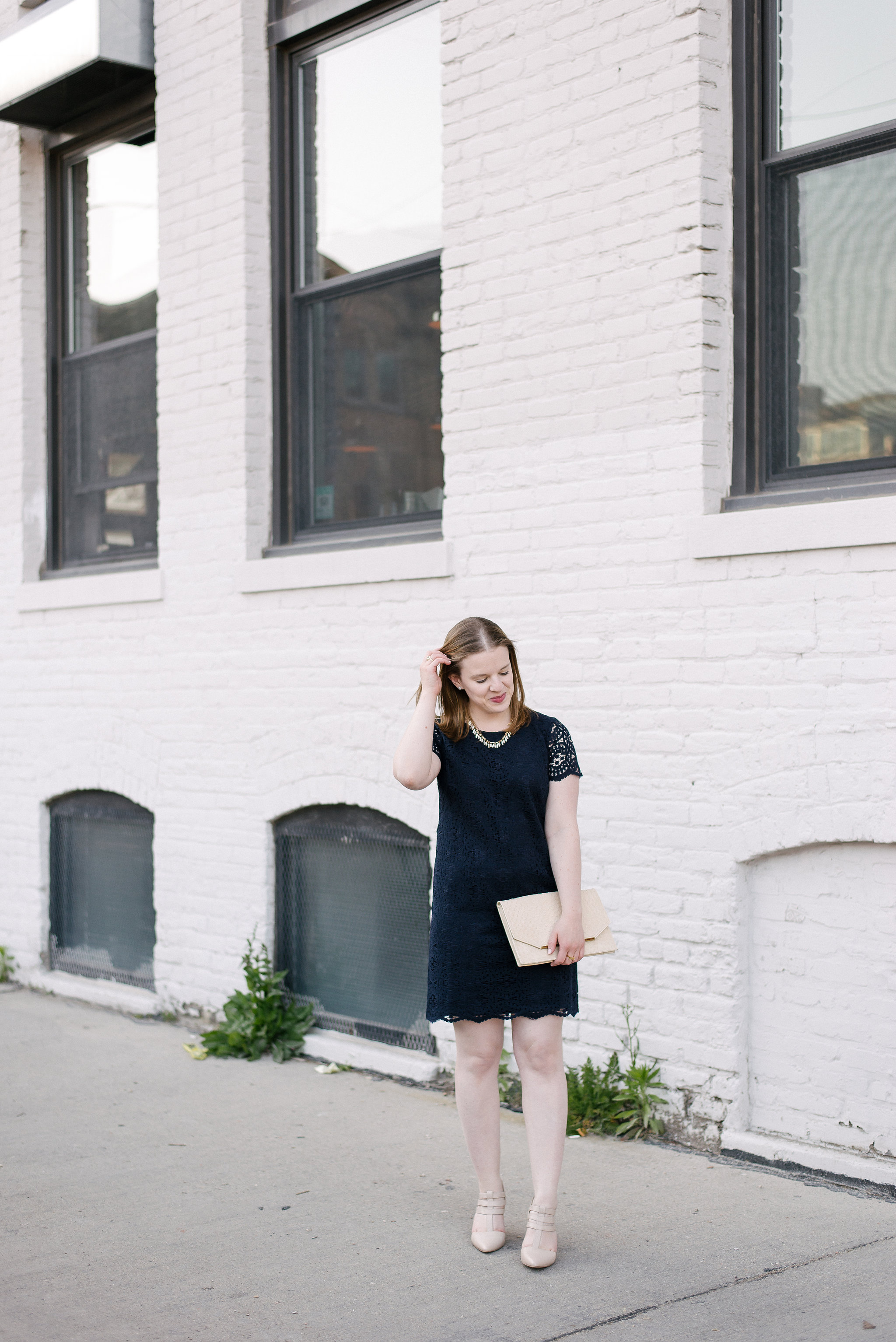 The Best Dresses to Wear to a Wedding | Something Good, @danaerinw , women, fashion, clothing, styles, clothes, women's fashion, wedding guest, wedding dresses, wedding guest dresses, summer styles, ann taylor lace shirt dress, ann taylor navy dress, petite dress, petite fashion, petite style