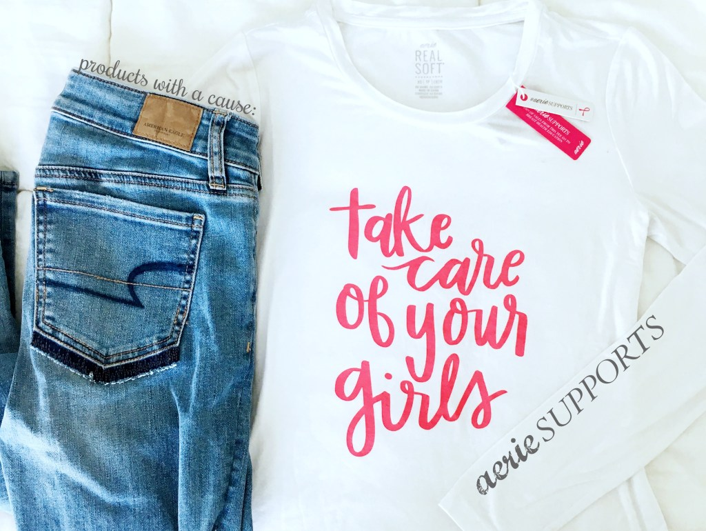 Products with a Cause: Aerie Supports Bright Pink | Something Good