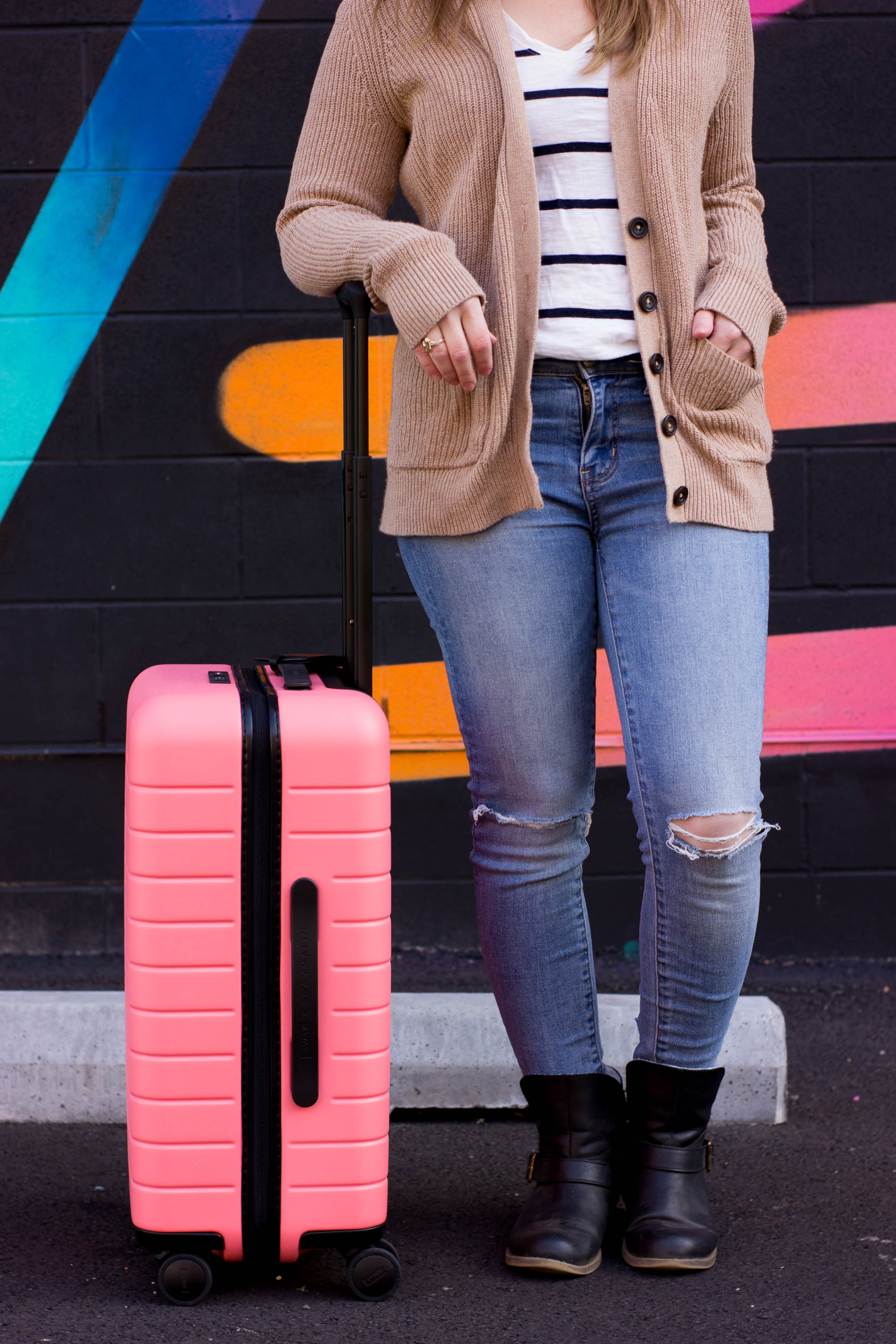 The Perfect Travel Outfit | Something Good, @danaerinw , away x gray malin, the bigger carry on,
