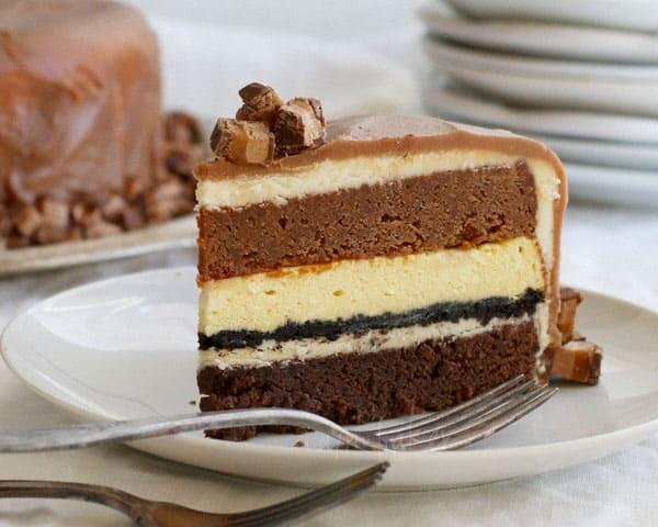 Milky Way Layer Cake Recipe