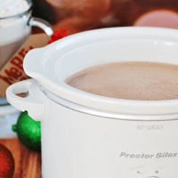 Crockpot Hot Chocolate