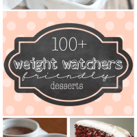 100+ Weight Watcher Friendly Desserts