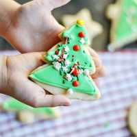 How to Frost Cookies like a Pro using Canned Frosting... with your kids!