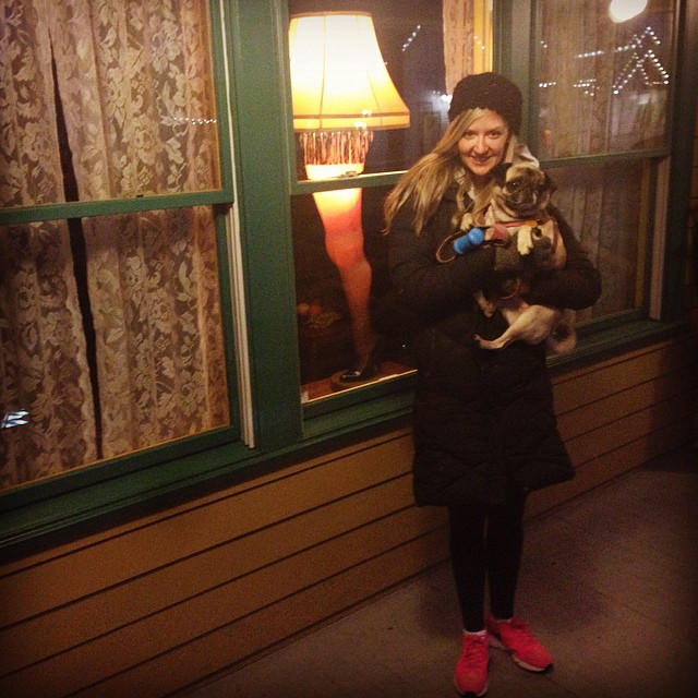 Fragilé! At The Christmas Story house in Cleveland on the way home to Indiana!