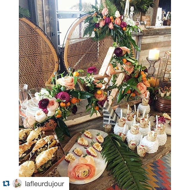Still feeling giddy over our boho table at #achicaffair with @lafleurdujour and @heirloomdc.  We ️ this vibe and can't wait to bring our style to events this season!#vintagerentals #vintage #weddings #eventstyling #weddingflorist #weddinginspo #boho #foodstyling #catering #weddings #dcwedding #marylandwedding #floraldesign #sweethearttable #weddinginspiration #eventdecor #industrialwedding