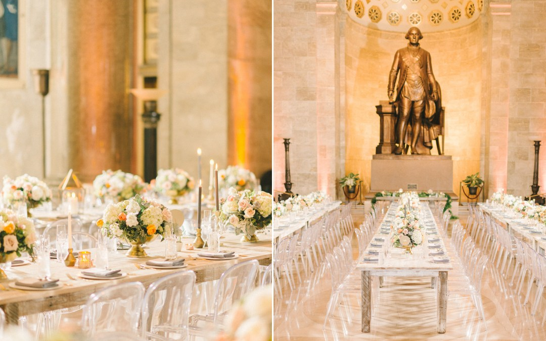 George Washington National Masonic Memorial Wedding, Alexandria Virginia || Meng + Albert ||