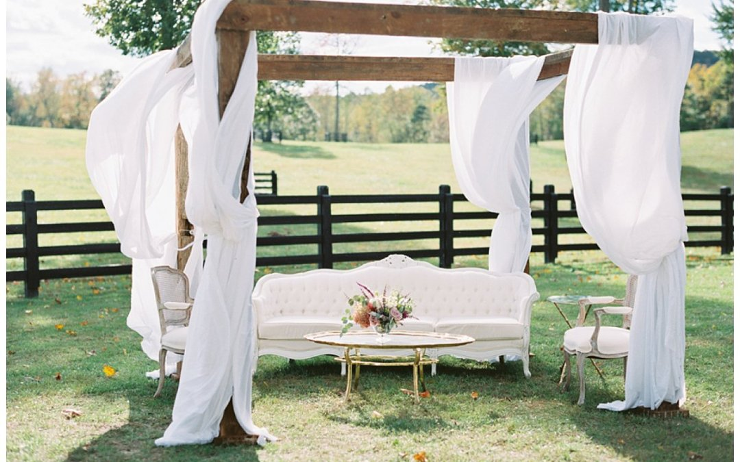 Virginia Barn Wedding   Warm Jewel Tones for a Fall Wedding