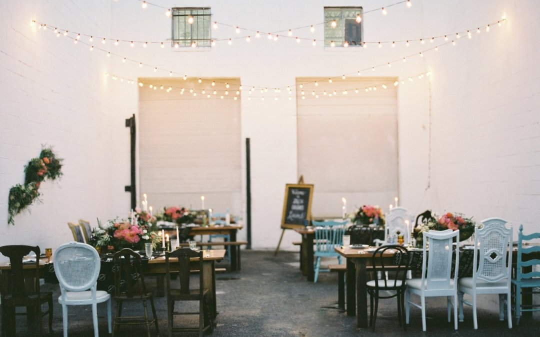 Dawn and Zach's Surprise Wedding || Something Vintage Warehouse