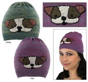 Dog in the noggin hat benefits animal rescue.