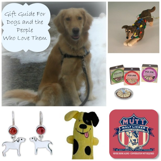 Gift Guide for Dogs and the People Who Love Them.