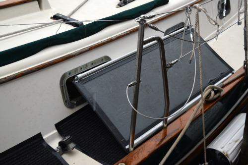 Solvit ramp on the boat deck.