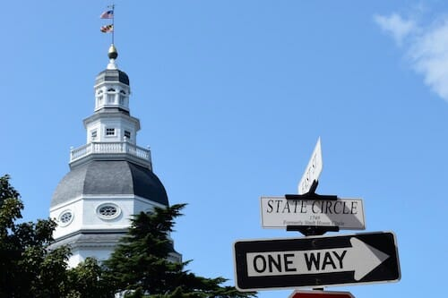 Annapolis State House.