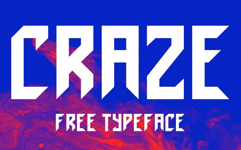 craze-typeface