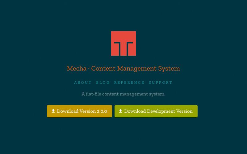 Mecha Content Management System