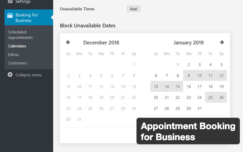 Appointment Booking For Business