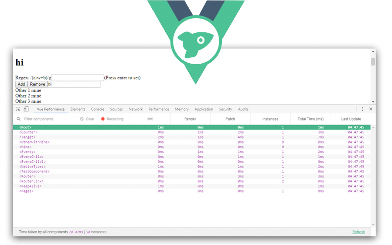 Vue Performance Devtool