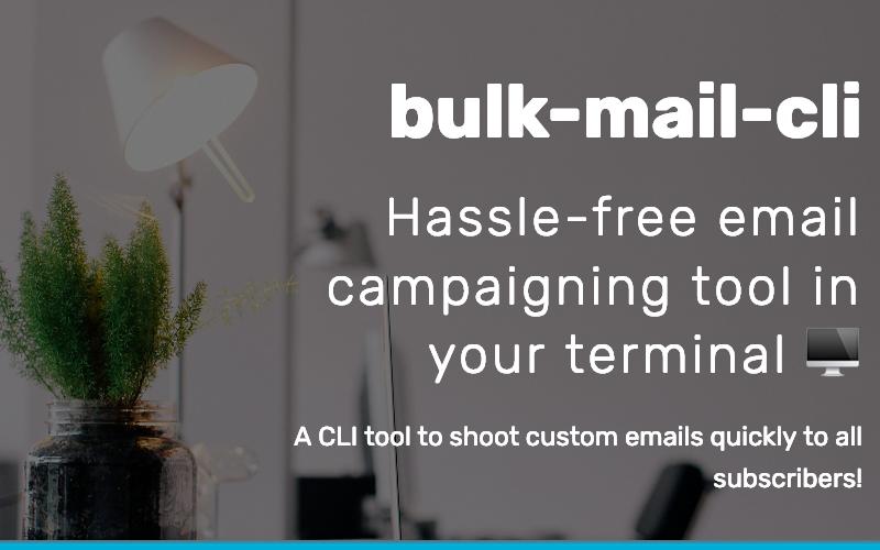 Bulk Mail Cli