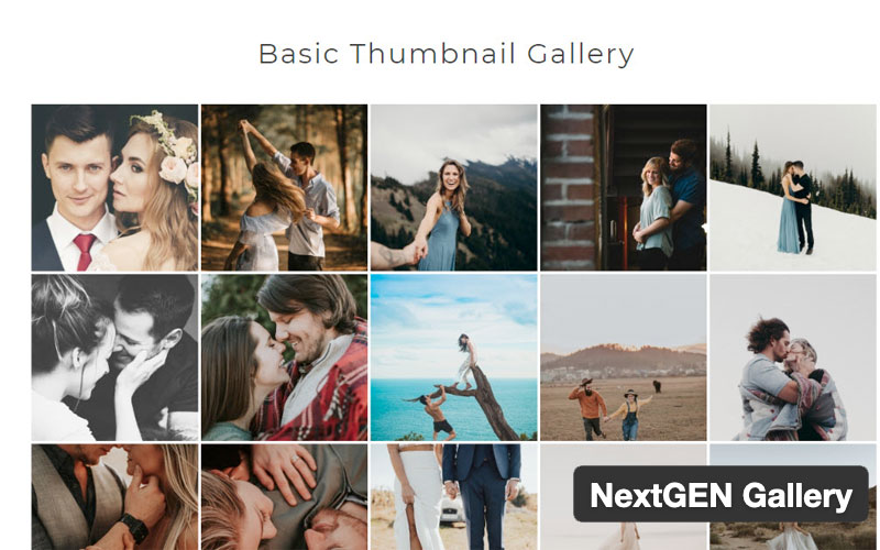 Nextgen Gallery WordPress Gallery Plugin