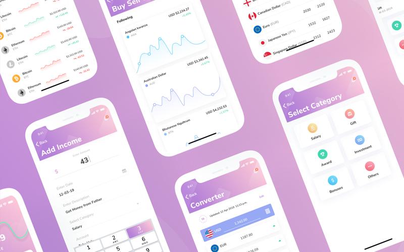 Vault Financial App Ui Kit