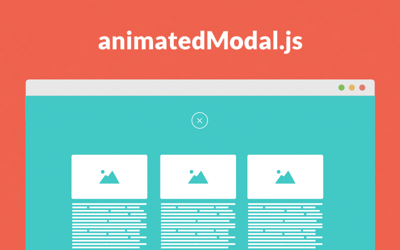 Animated Modal.js