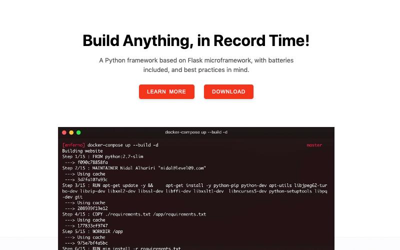 Enferno Python Framework