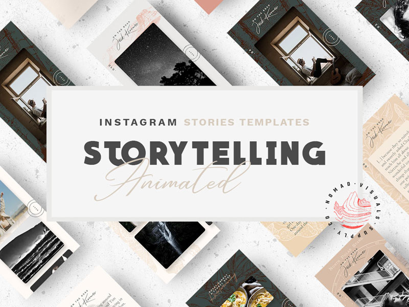 Animated Instagram Templates