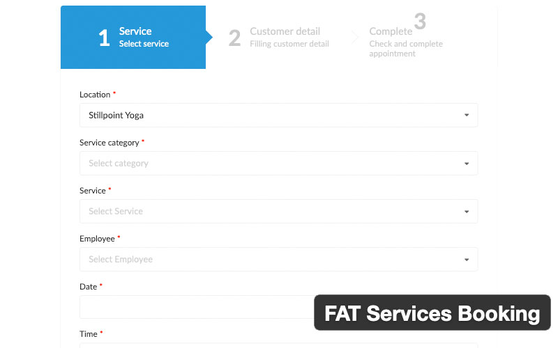 Fat Services Booking Automated Booking And Online Scheduling