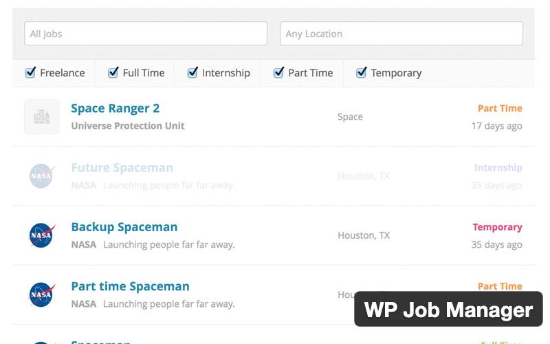 Wp Job Manager