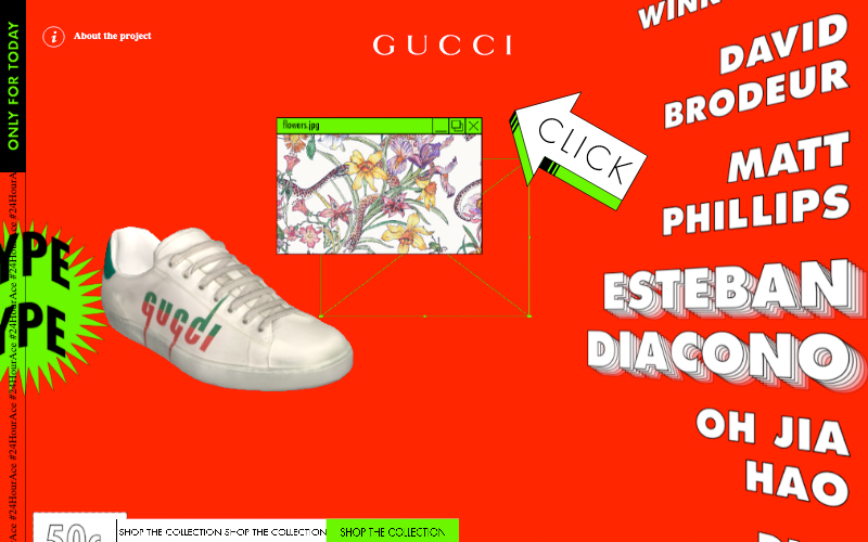 24 Hour Race Gucci