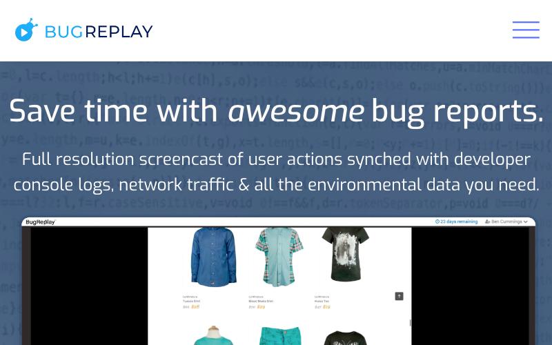 Bug Replay