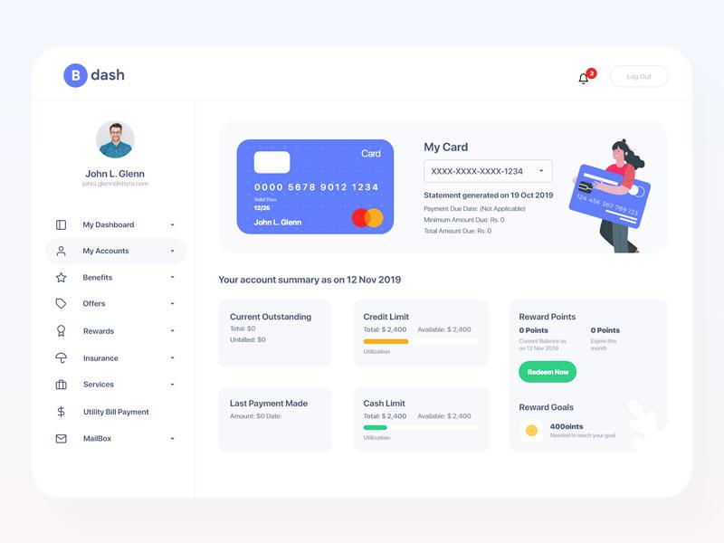 Bankdash Dashboard Ui