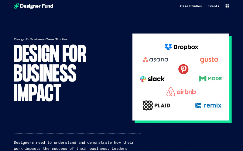 Designer For Business Impact