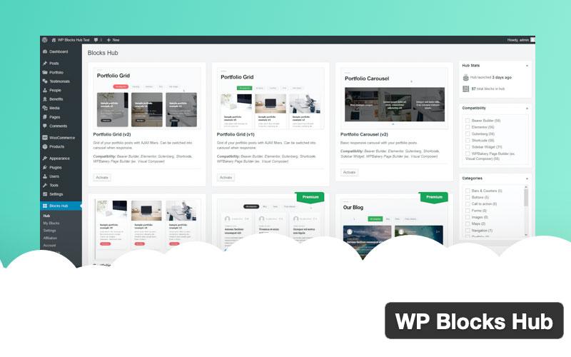 Wp Blocks Hub