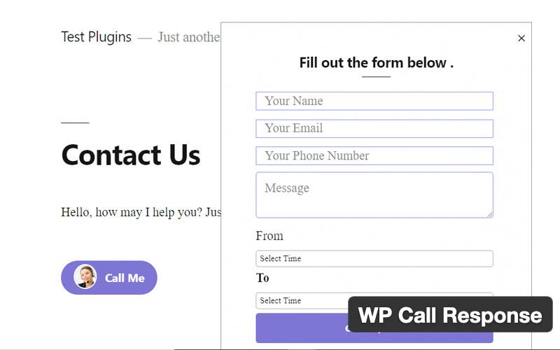 Wp Call Response