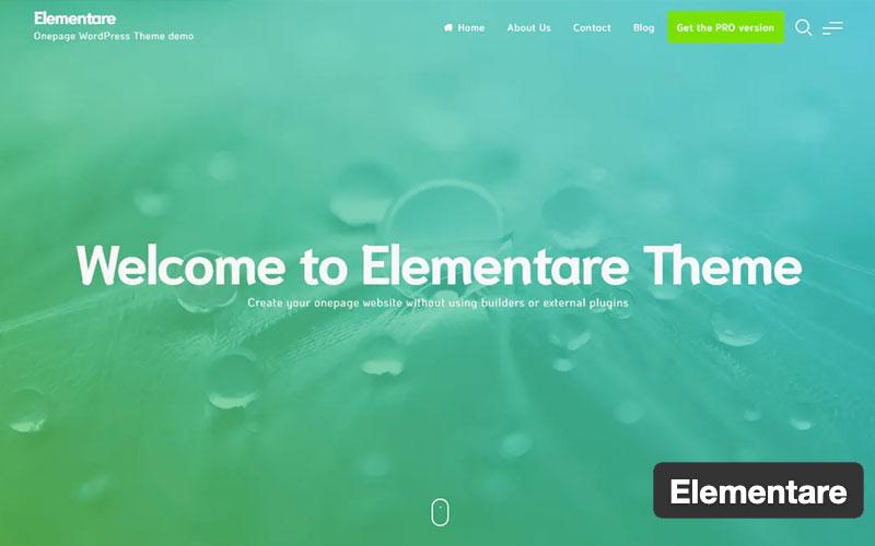 Elementare WordPress Theme