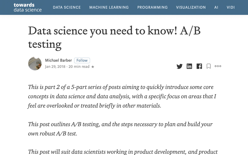 Data Science You Need To Know! Ab Testing