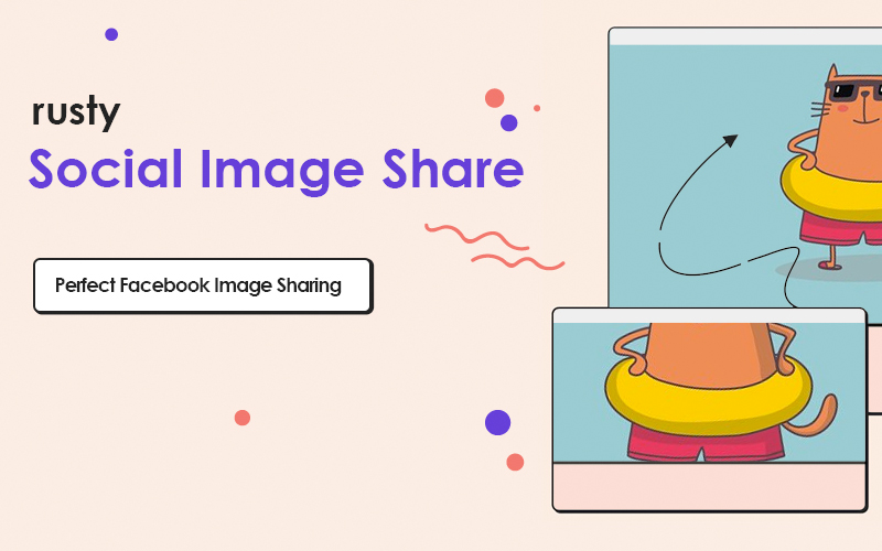 Rusty Social Image Share