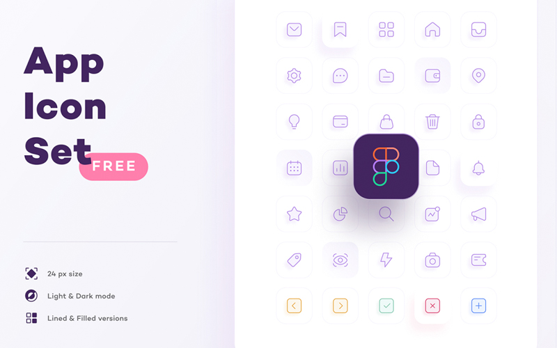 App Icon Set For Figma