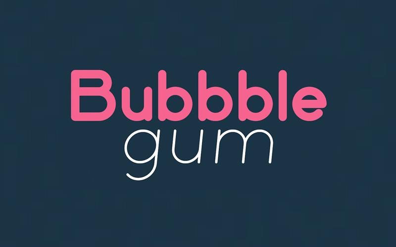 Bubbble Gum Sans Serif Free Font