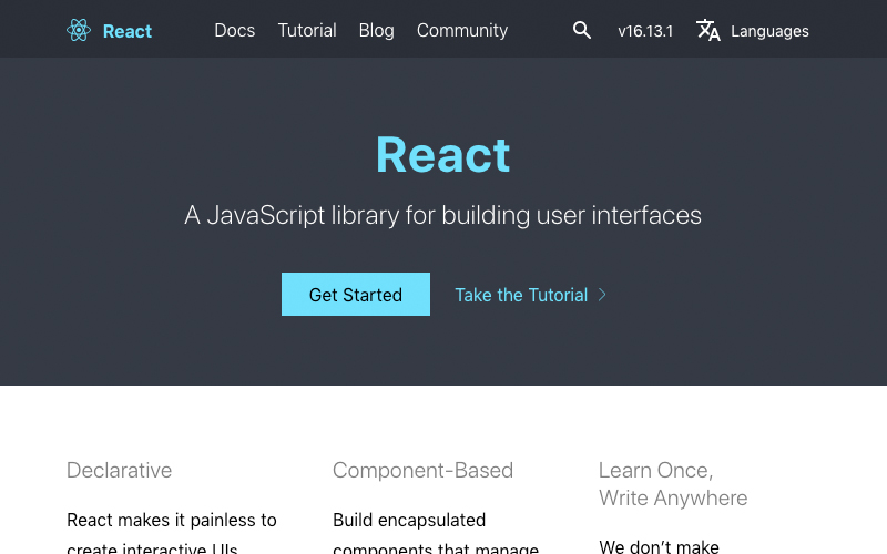 React Official Documentation