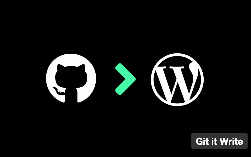 Git It Write Write Posts From Github