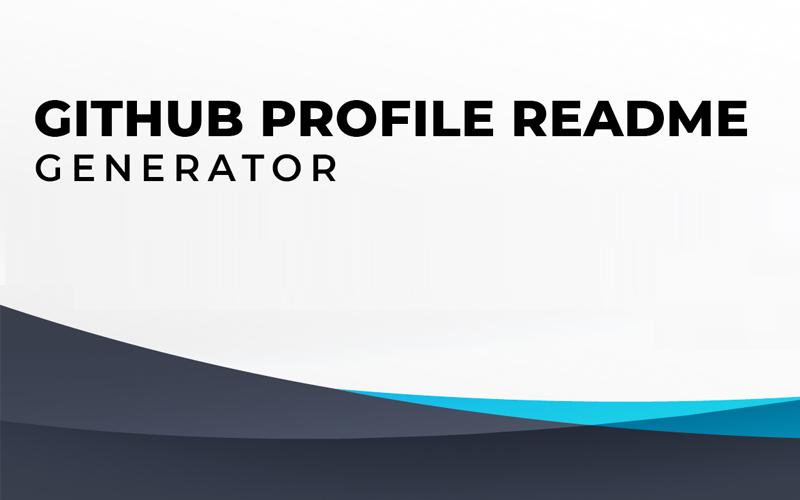 Github Readme Generator
