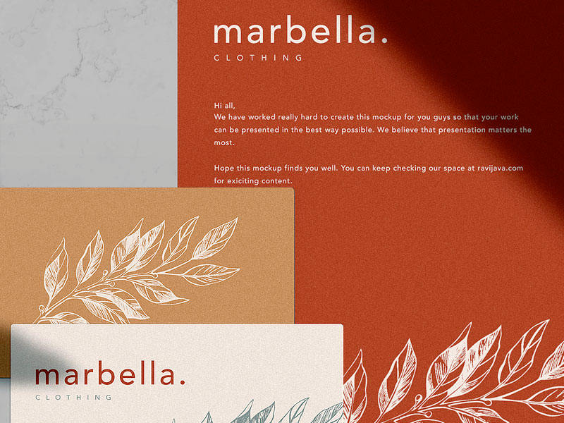 Marbella Stationery