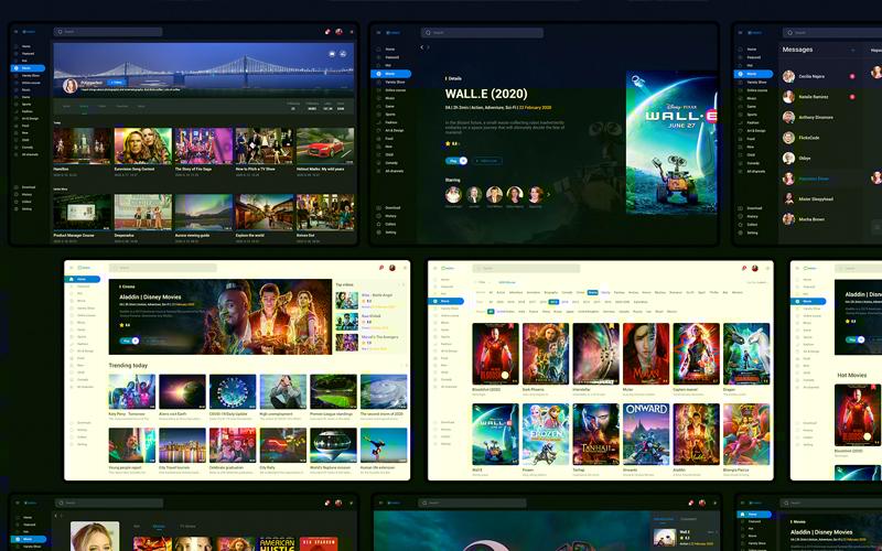 Video Sharing Platform App Ui Kit