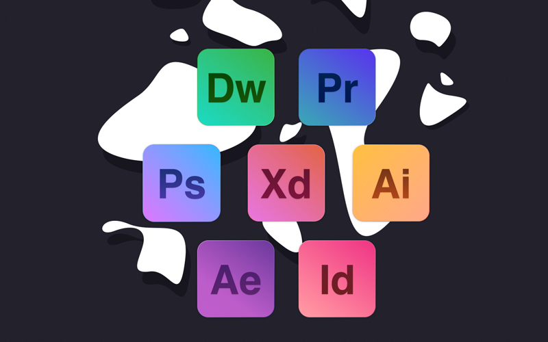 Adobe Icon Set Group 1