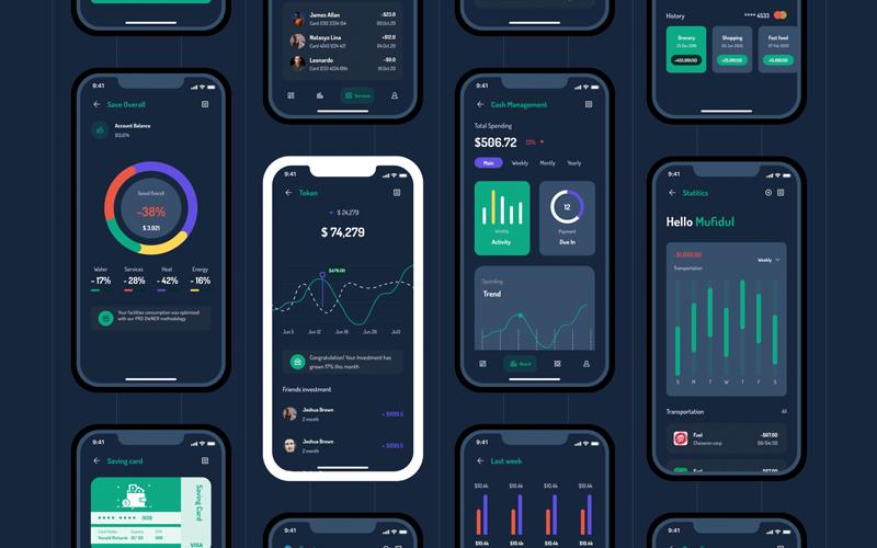 Among Bank Banking App Ui Kit