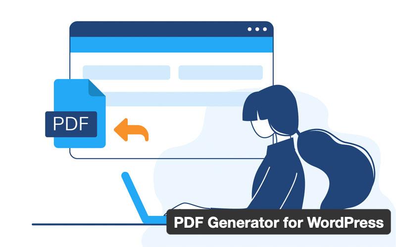 Pdf Generator For WordPress