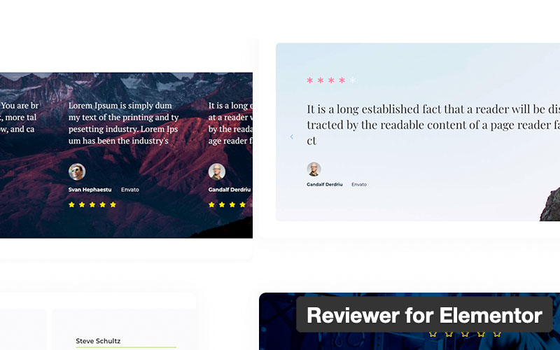 Reviewer For Elementor
